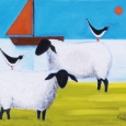 Sheep On Shore